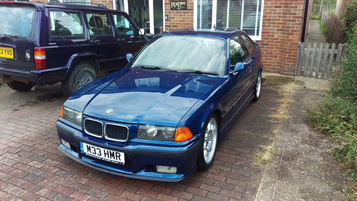 1996 BMW e36 M3 3.0 5 Speed Manual Avus Blue SOLD (picture 1 of 6)