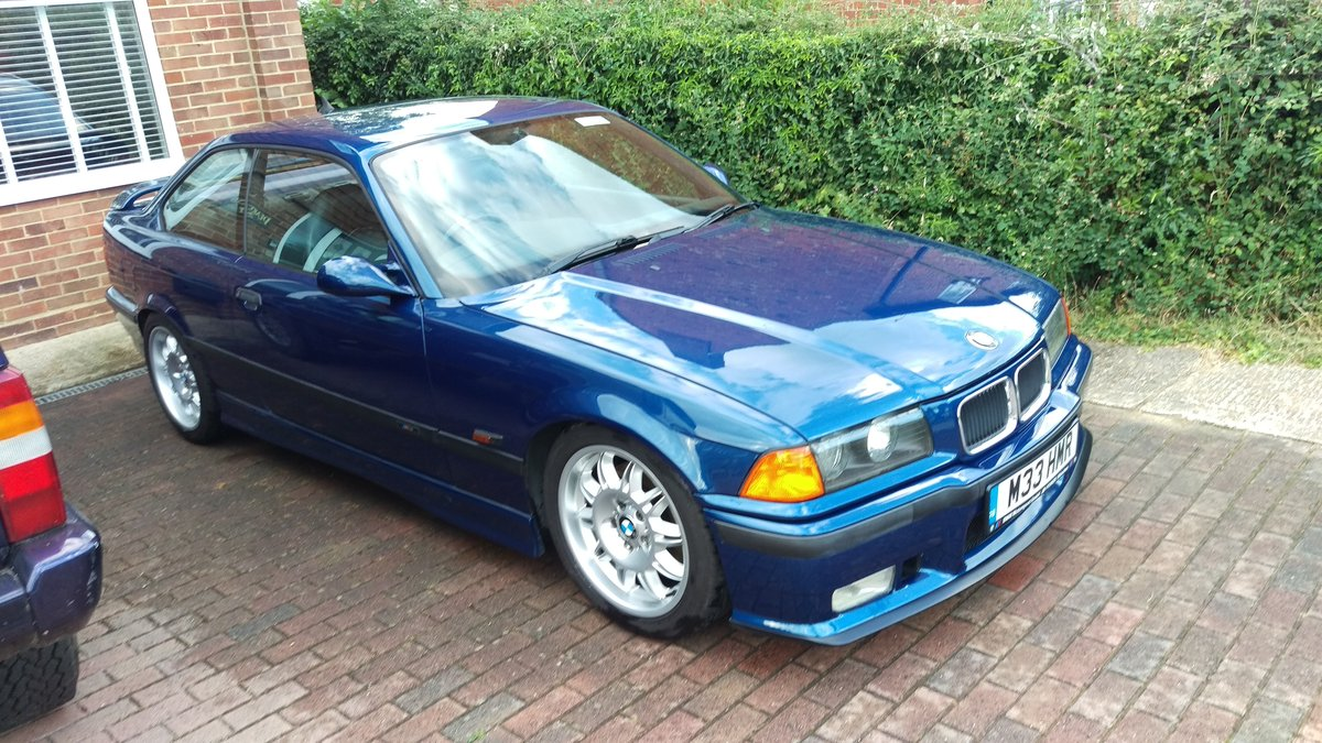 1996 BMW e36 M3 3.0 5 Speed Manual Avus Blue SOLD (picture 2 of 6)