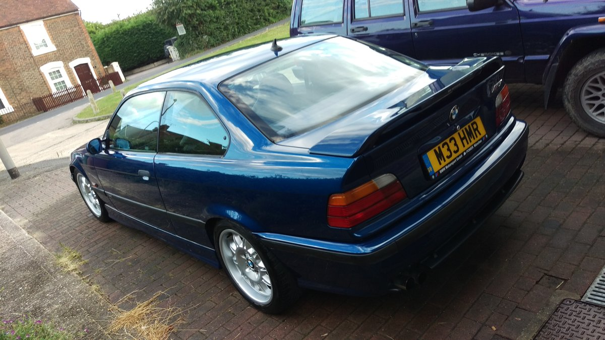 1996 BMW e36 M3 3.0 5 Speed Manual Avus Blue SOLD (picture 3 of 6)