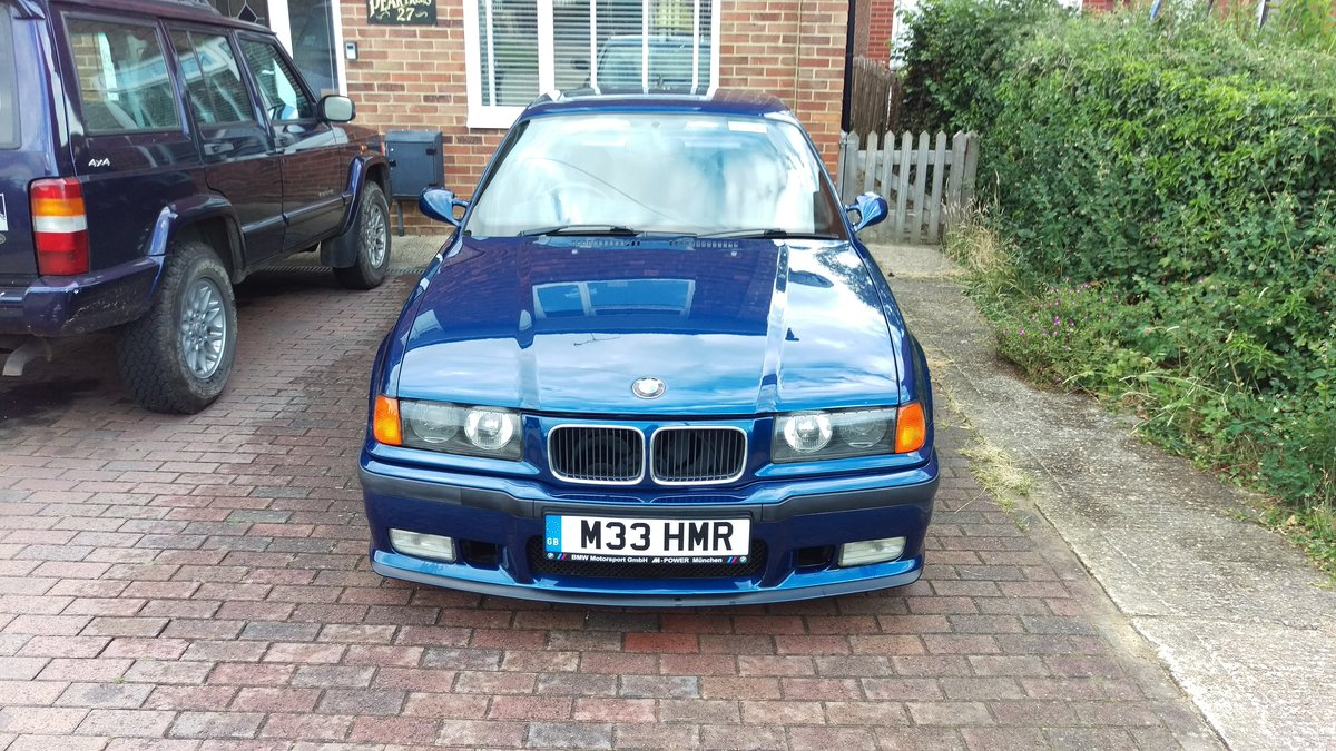 1996 BMW e36 M3 3.0 5 Speed Manual Avus Blue SOLD (picture 5 of 6)
