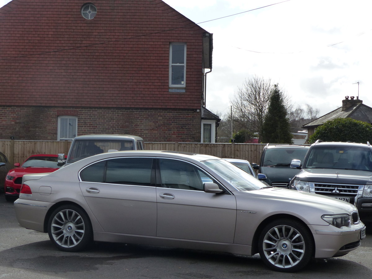 2004 Bmw 760li V12 Individual Special Order Left Hand Drive For