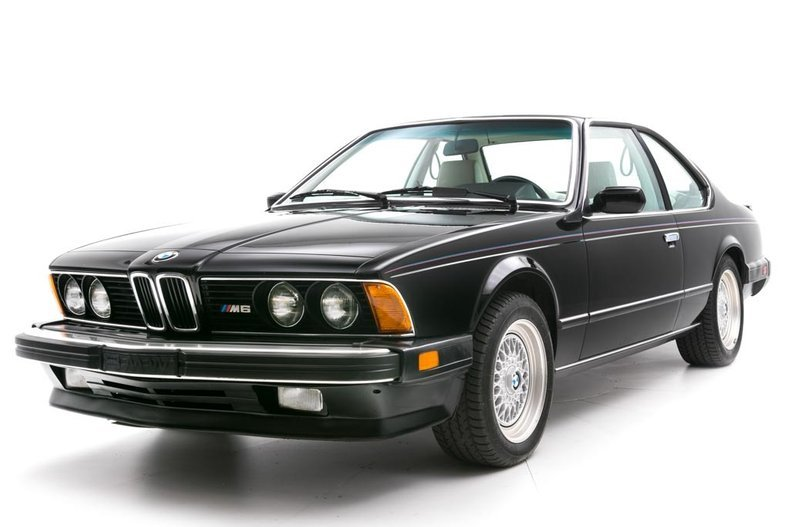 1987 BMW M6  = Manual clean Black driver 97k miles $49.5k For Sale (picture 1 of 6)