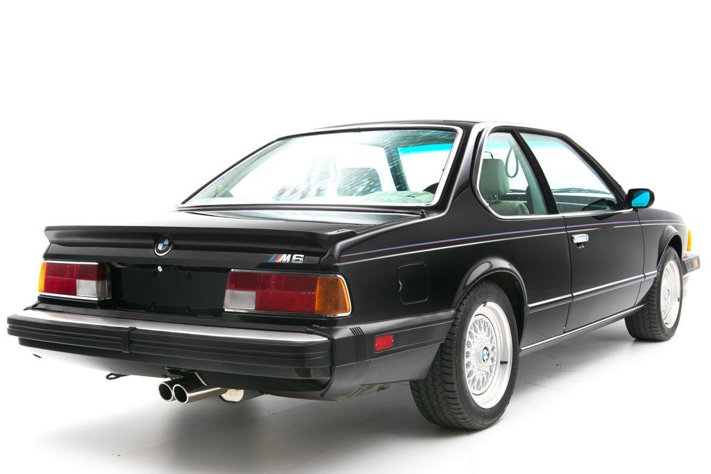 1987 BMW M6  = Manual clean Black driver 97k miles $49.5k For Sale (picture 2 of 6)