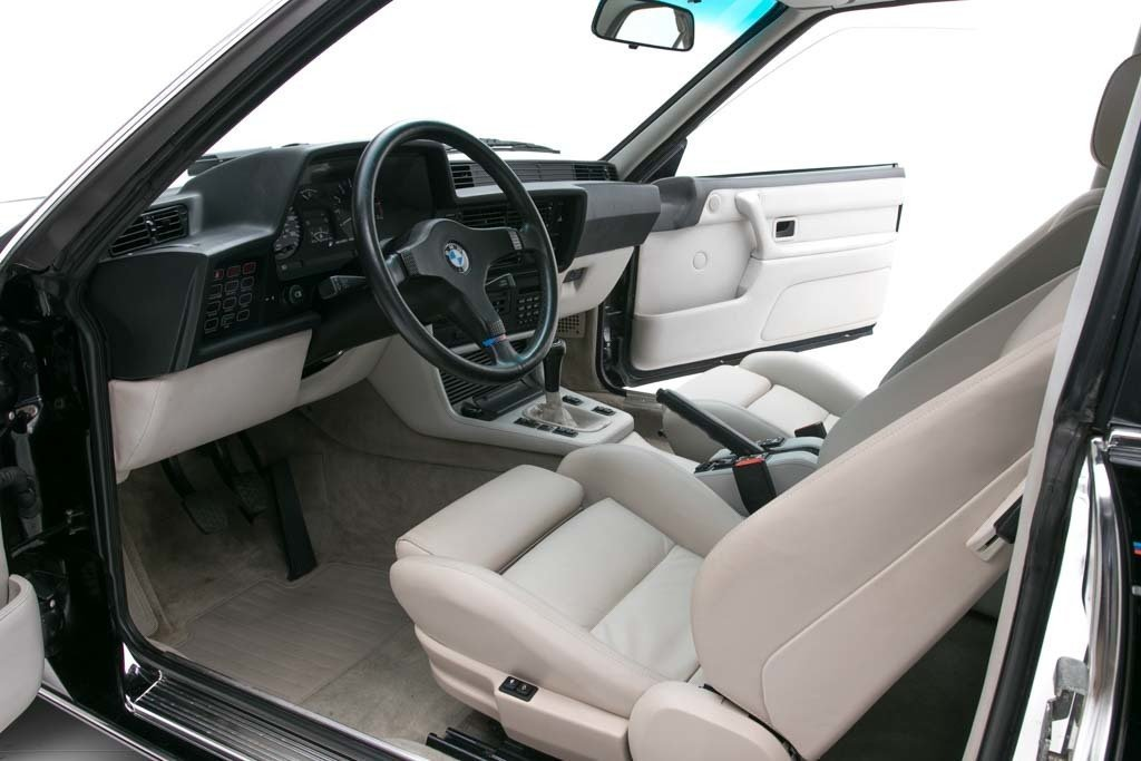 1987 BMW M6  = Manual clean Black driver 97k miles $49.5k For Sale (picture 3 of 6)