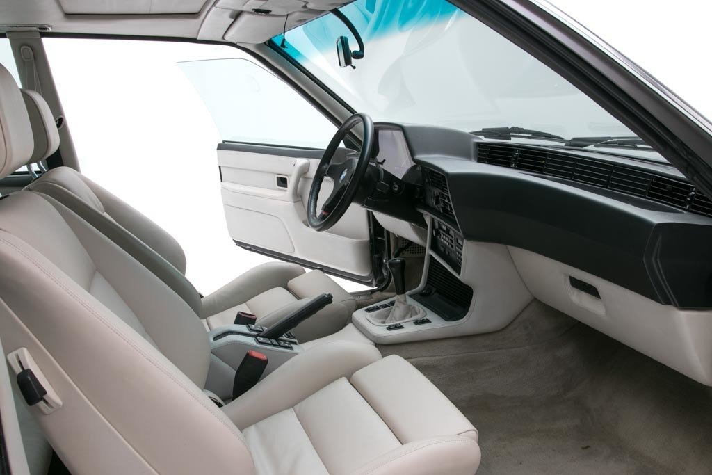 1987 BMW M6  = Manual clean Black driver 97k miles $49.5k For Sale (picture 4 of 6)
