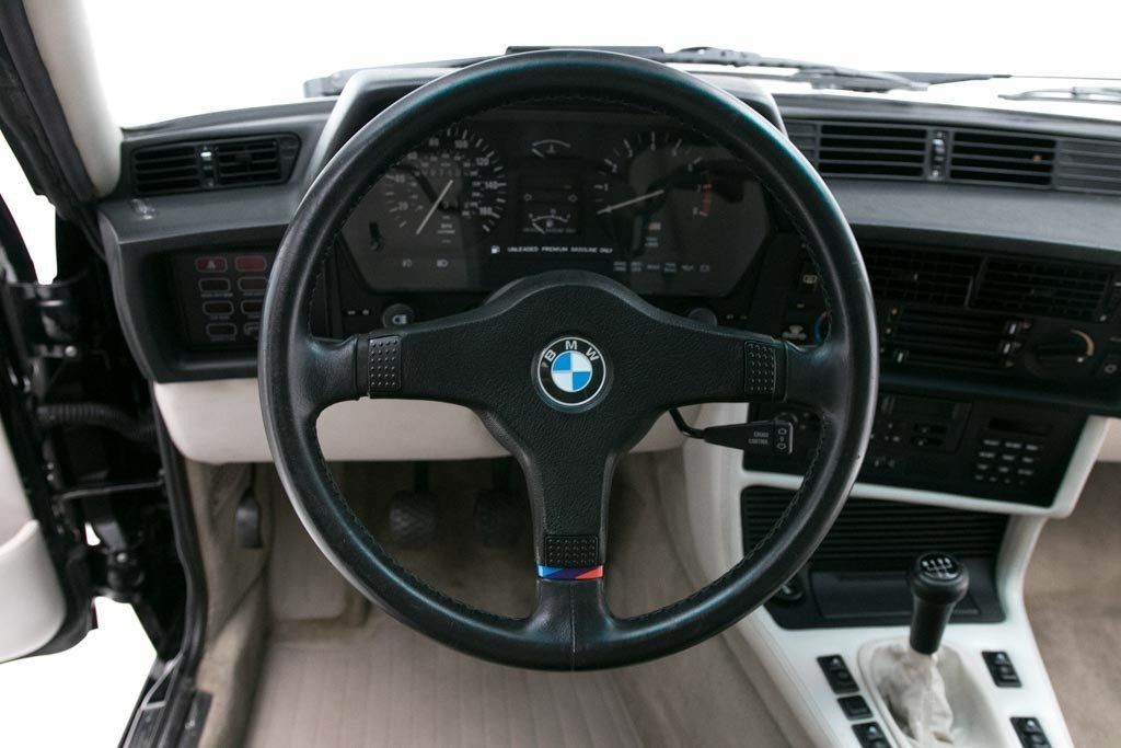 1987 BMW M6  = Manual clean Black driver 97k miles $49.5k For Sale (picture 5 of 6)