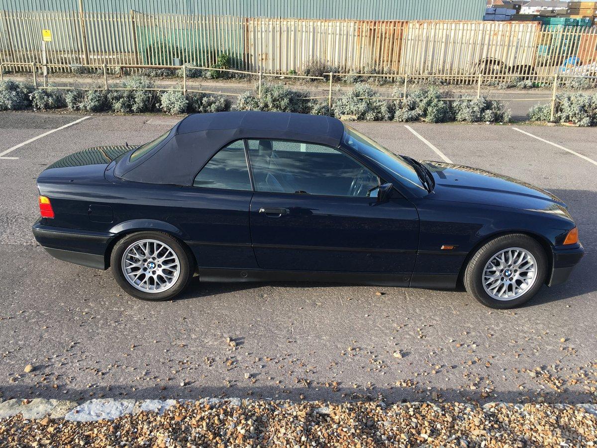 1996 Exceptional E36 328i auto cabrio For Sale (picture 5 of 6)