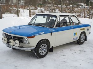 BMW 1600-2 Gr.2 1969 Historic Rally Car For Sale