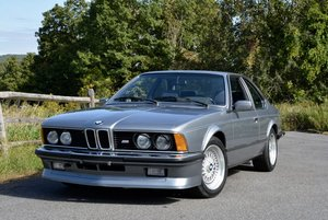 1985 BMW M6 Euro-specs All Blue Manual Sunroof  $58.9k For Sale