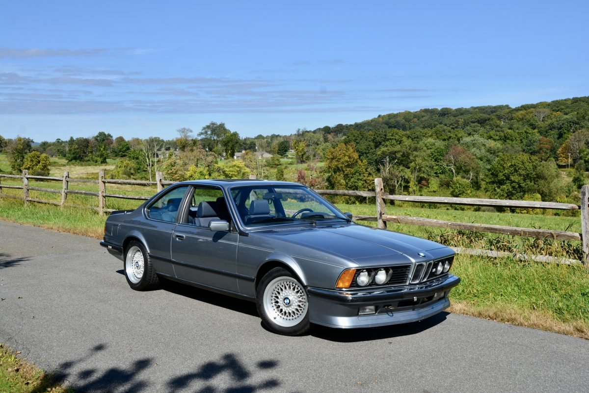 1985 BMW M6 Euro-specs All Blue Manual Sunroof  $58.9k For Sale (picture 2 of 6)