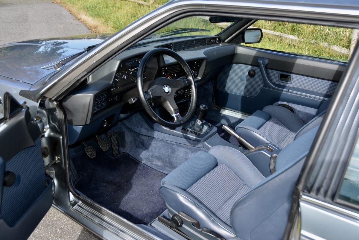 1985 BMW M6 Euro-specs All Blue Manual Sunroof  $58.9k For Sale (picture 4 of 6)