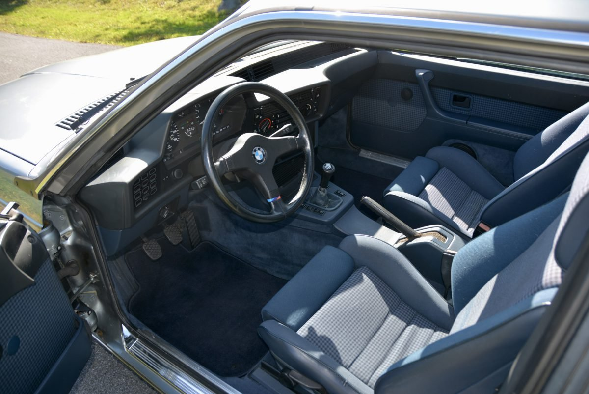 1985 BMW M6 Euro-specs All Blue Manual Sunroof  $58.9k For Sale (picture 5 of 6)