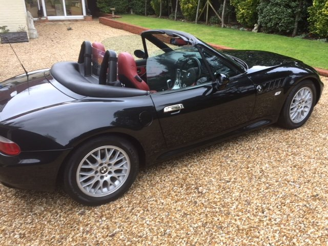 2001 Bmw Z3 22 Auto Roadster For Sale Car And Classic