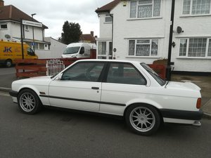 1990 E30 335i coupe automatic alpine white For Sale