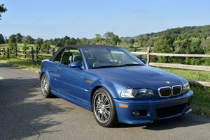 2002 BMW M3 E46 Convertible = Blue(~)Grey SMG shiftable  For Sale