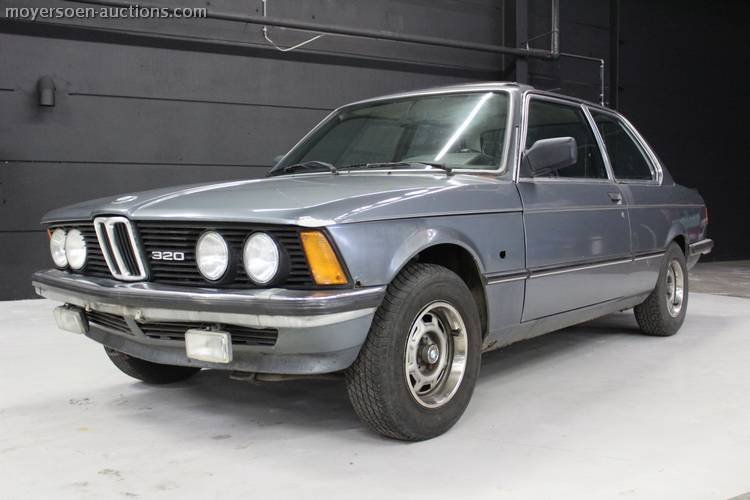1972 BMW 320i E21 For Sale by Auction (picture 1 of 5)