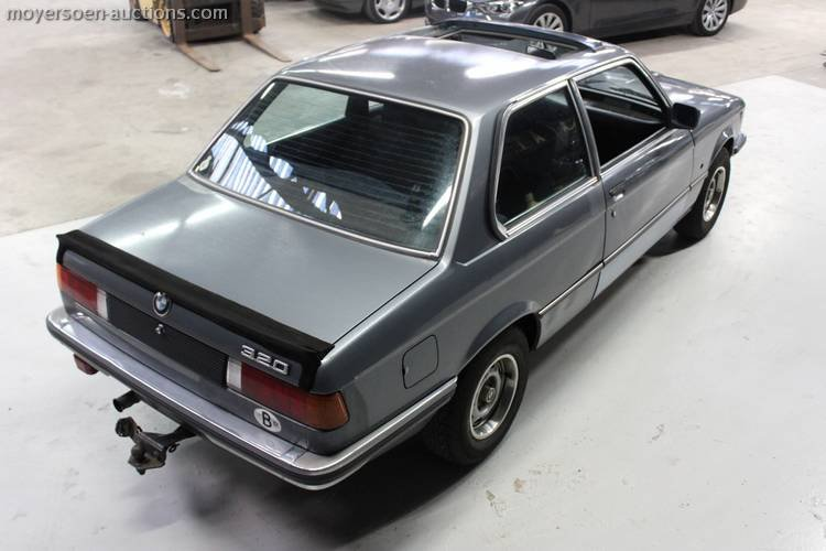1972 BMW 320i E21 For Sale by Auction (picture 5 of 5)