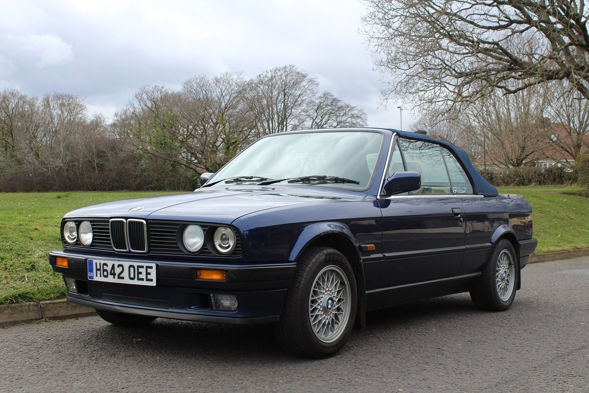 BMW 318 Convertible 1991 - to be auctioned 26-04-19 For Sale by Auction (picture 1 of 6)