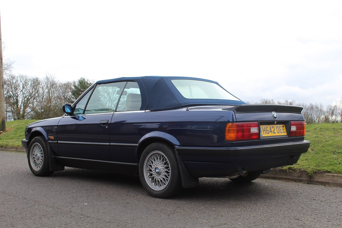BMW 318 Convertible 1991 - to be auctioned 26-04-19 For Sale by Auction (picture 2 of 6)