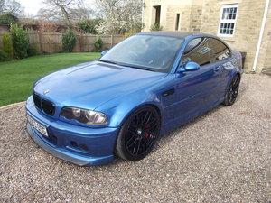 2003 M3 (E46) FACELIFT- INDIVIDUAL ESTORIL BLUE 365 BHP For Sale