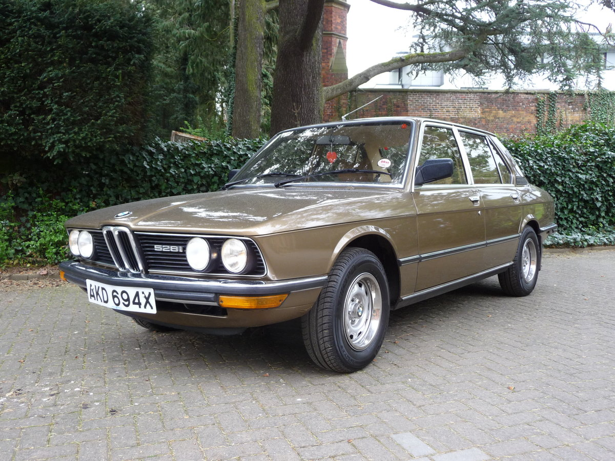 1981 Probably the best BMW E12 528i Manual available !! For Sale (picture 2 of 6)