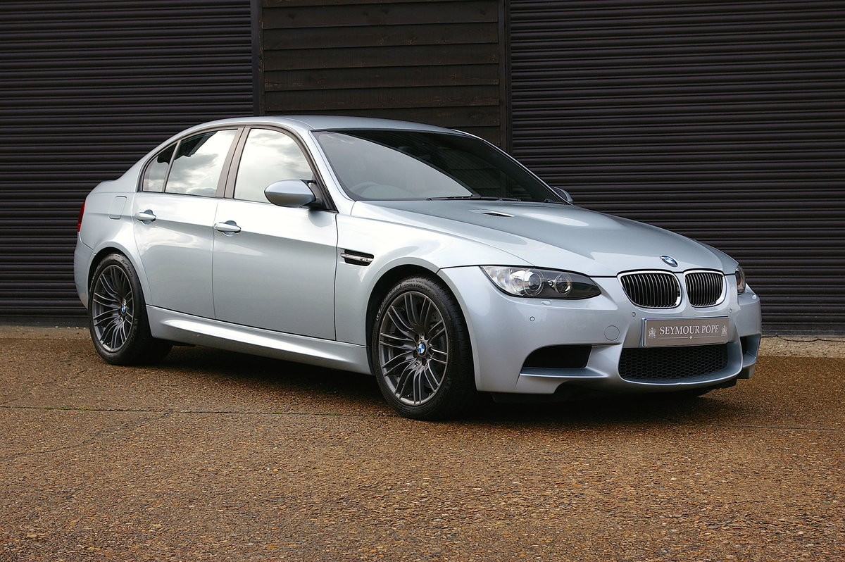 2009 BMW E90 M3 4.0 V8 DCT Saloon Automatic (34,689 miles) SOLD (picture 1 of 6)