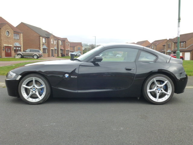 BMW Z4 3.0Si coupe,manual, 2007, Black, SOLD (picture 1 of 6)