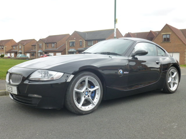 BMW Z4 3.0Si coupe,manual, 2007, Black, SOLD (picture 2 of 6)