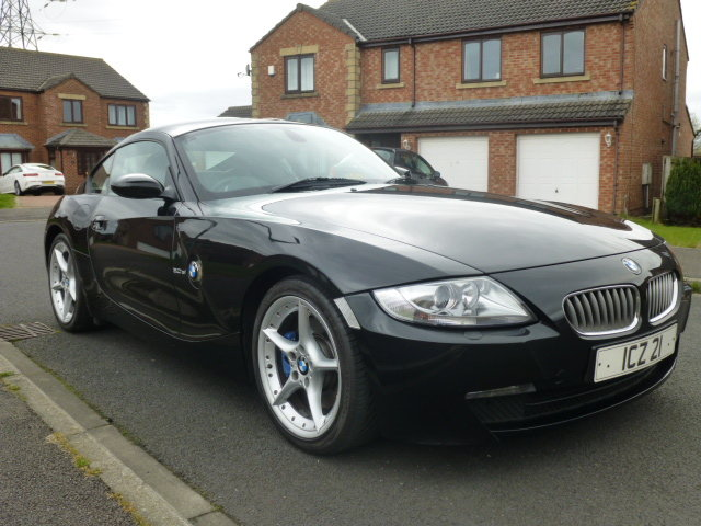 BMW Z4 3.0Si coupe,manual, 2007, Black, SOLD (picture 5 of 6)