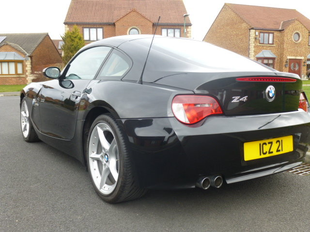 BMW Z4 3.0Si coupe,manual, 2007, Black, SOLD (picture 6 of 6)