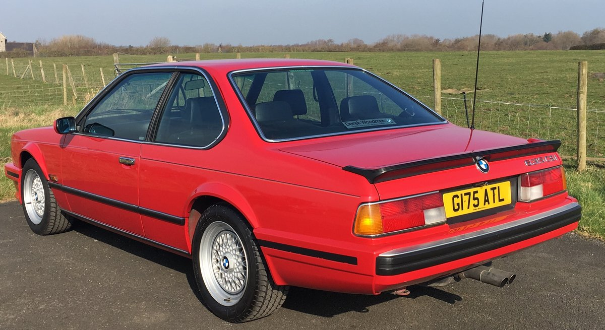 1989 ONE LADY OWNER,JUST 49K FULL BMWSH,STUNNING CAR For Sale (picture 4 of 6)