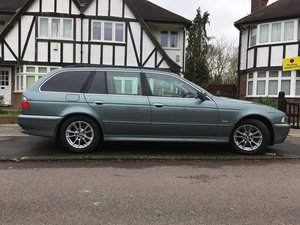 2003 E39 530d Touring Full Service History For Sale