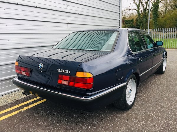 1988 Stunning Bmw 735i auto - 112k - 1 owner from new For Sale (picture 4 of 6)