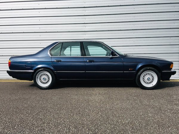 1988 Stunning Bmw 735i auto - 112k - 1 owner from new For Sale (picture 5 of 6)