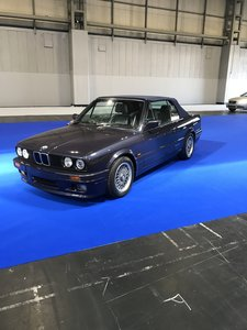 1990 E30 325 Motorsport convertible macau grey tex leather