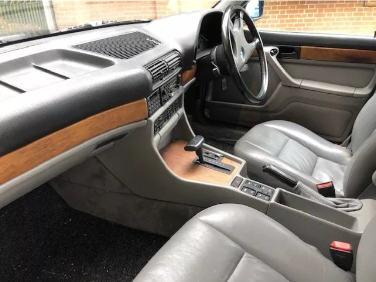 1988 Stunning Bmw 735i auto - 112k - 1 owner from new For Sale (picture 6 of 6)