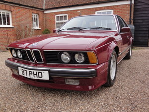 1988 635 csi Highline in Rare colour Wine Red  For Sale
