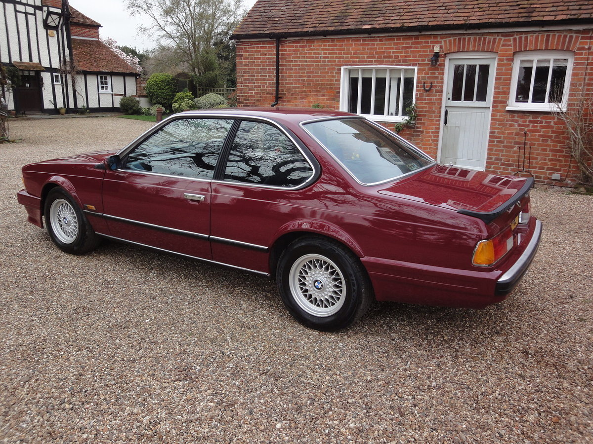 1988 635 csi Highline in Rare colour Wine Red  For Sale (picture 3 of 6)