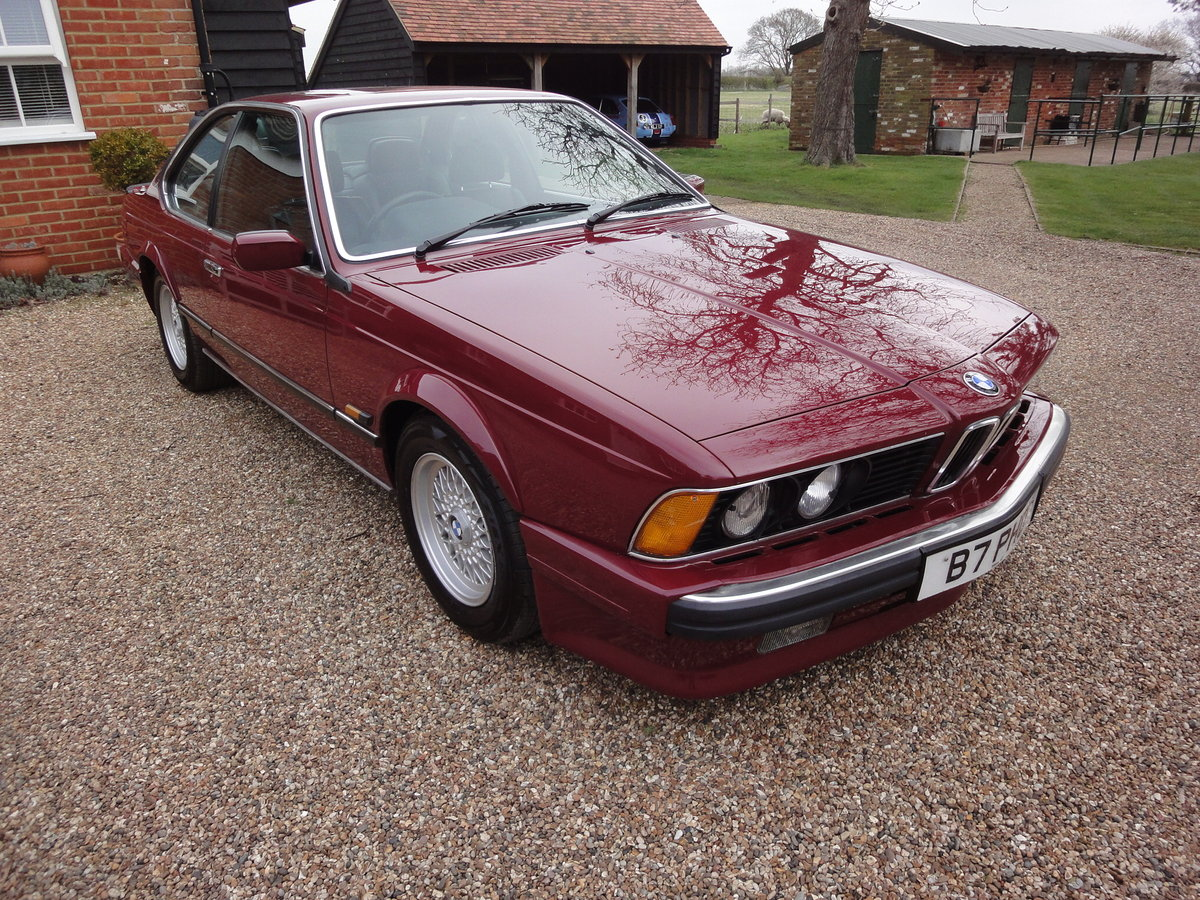 1988 635 csi Highline in Rare colour Wine Red  For Sale (picture 4 of 6)