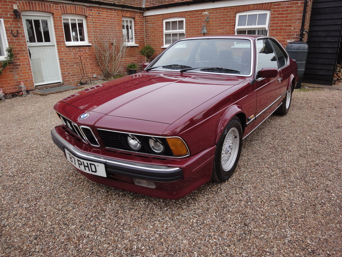 1988 635 csi Highline in Rare colour Wine Red  For Sale (picture 5 of 6)