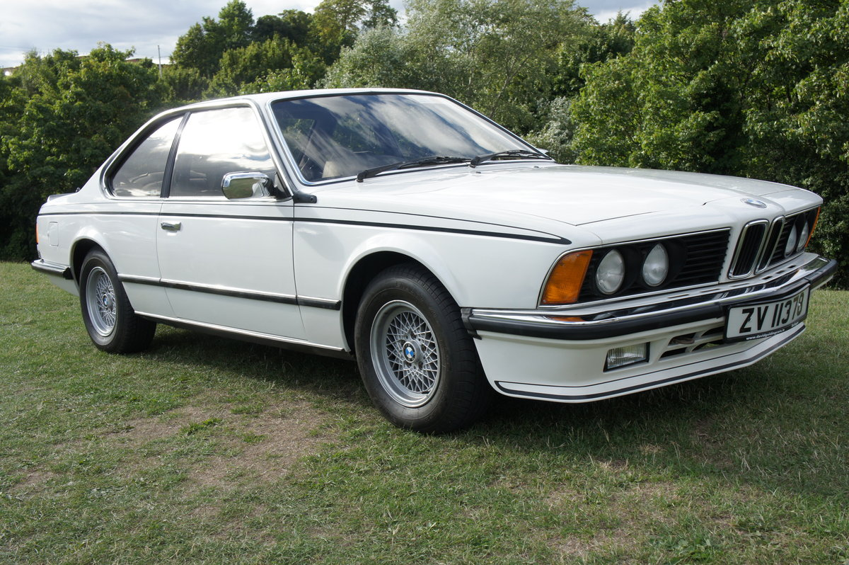 1983 BMW 635CSI ONLY 74k EX.ORIGINAL CONDITION FREE DELIVERY For Sale (picture 1 of 6)