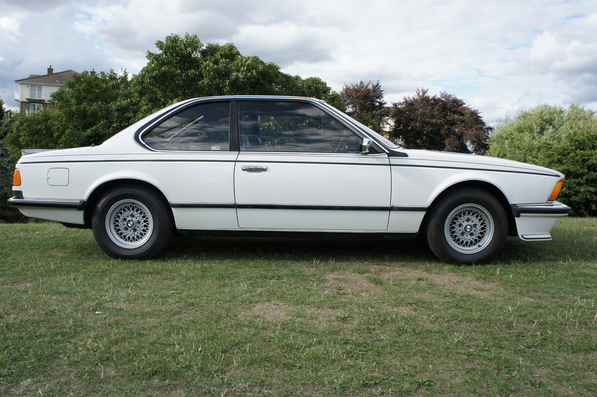1983 BMW 635CSI ONLY 74k EX.ORIGINAL CONDITION FREE DELIVERY For Sale (picture 3 of 6)