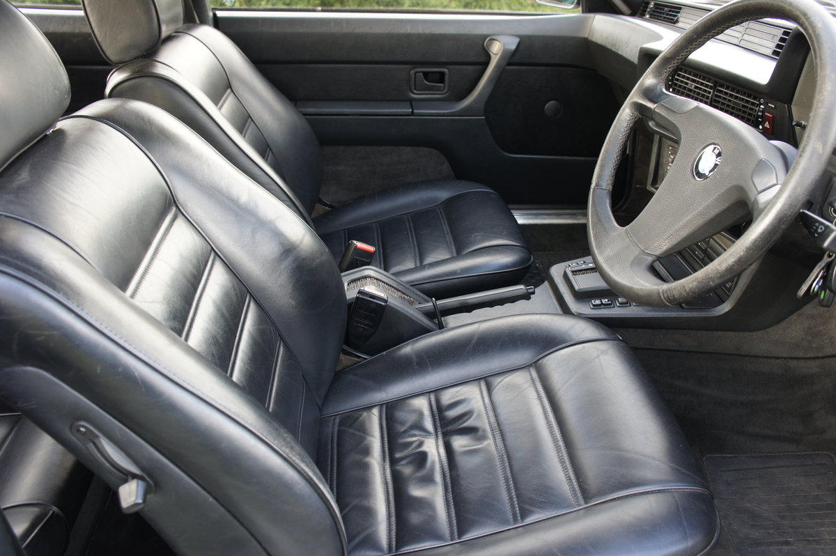 1983 BMW 635CSI ONLY 74k EX.ORIGINAL CONDITION FREE DELIVERY For Sale (picture 4 of 6)