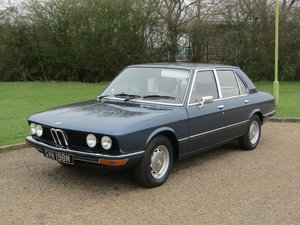 1975 BMW E12 520 Auto at ACA 13th April For Sale