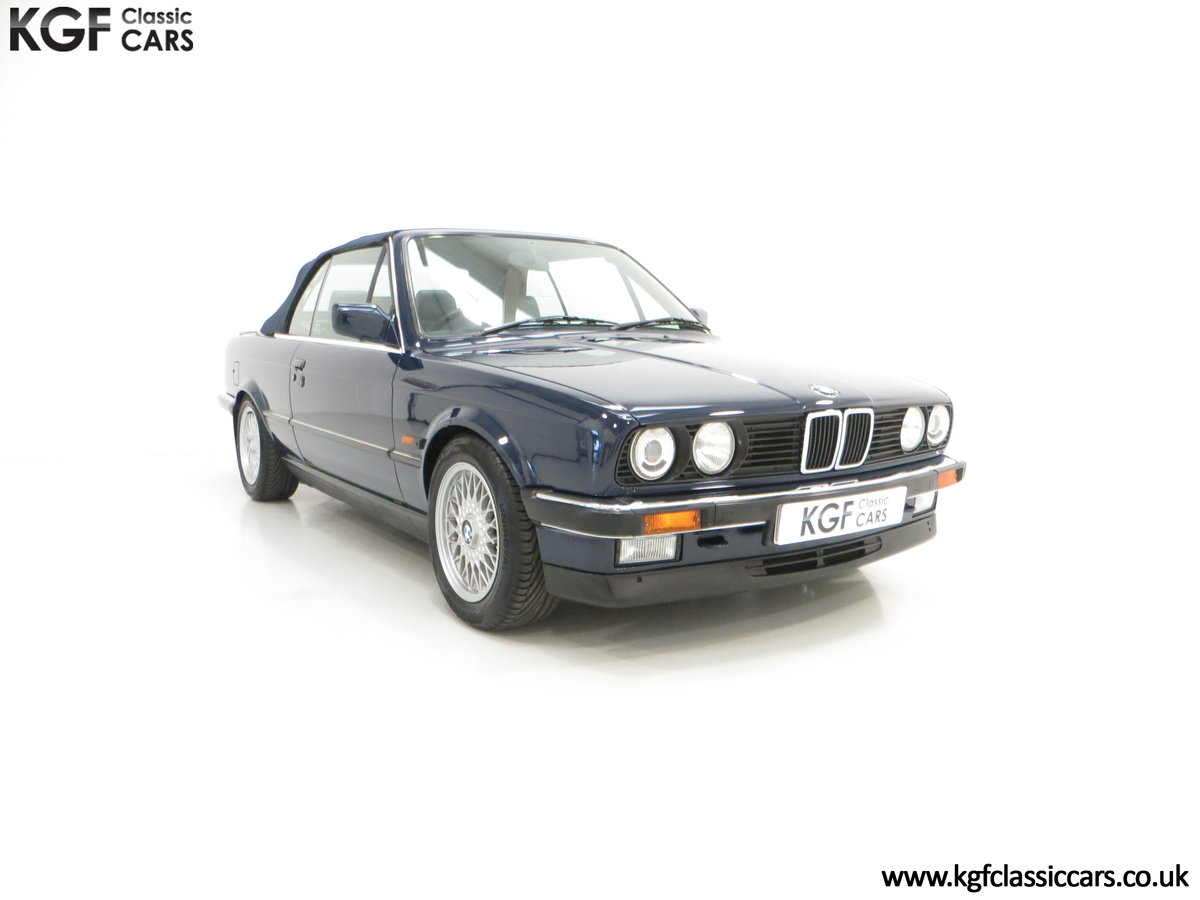 1990 A Stunning Pre-Facelift BMW E30 325i Convertible SOLD (picture 1 of 6)