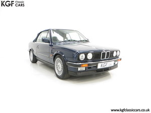 1990 A Stunning Pre-Facelift BMW E30 325i Convertible SOLD