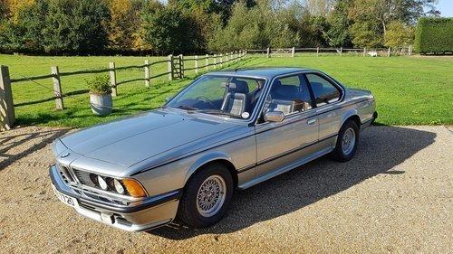 1980 BMW 635CSI For Sale