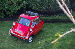 1959 BMW Isetta 300 = Restored Red(~)Grey 32k miles $37.9k For Sale