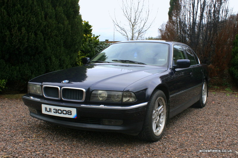 1996 BMW 728i LPG Orient Blue 129k For Sale (picture 1 of 6)