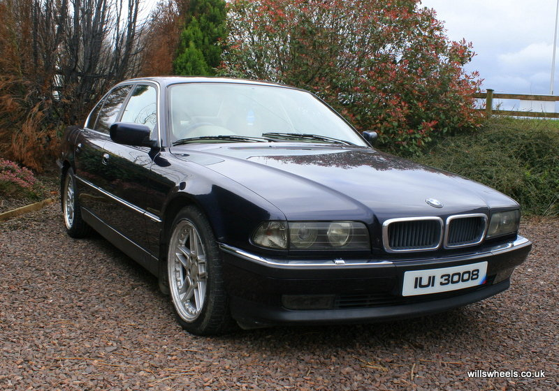 1996 BMW 728i LPG Orient Blue 129k For Sale (picture 2 of 6)